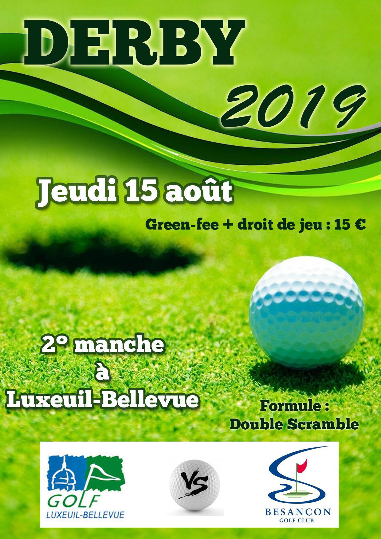 Golf de Luxeuil-Bellevue - Actualités - Derby Besançon